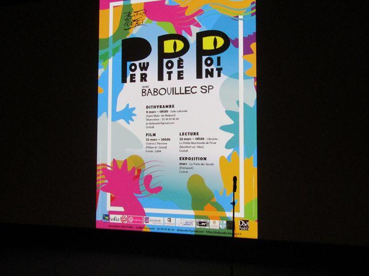 Photos de la soirée cinéma du mini-festival «Power Poète Point» : projection «Dernières nouvelles…