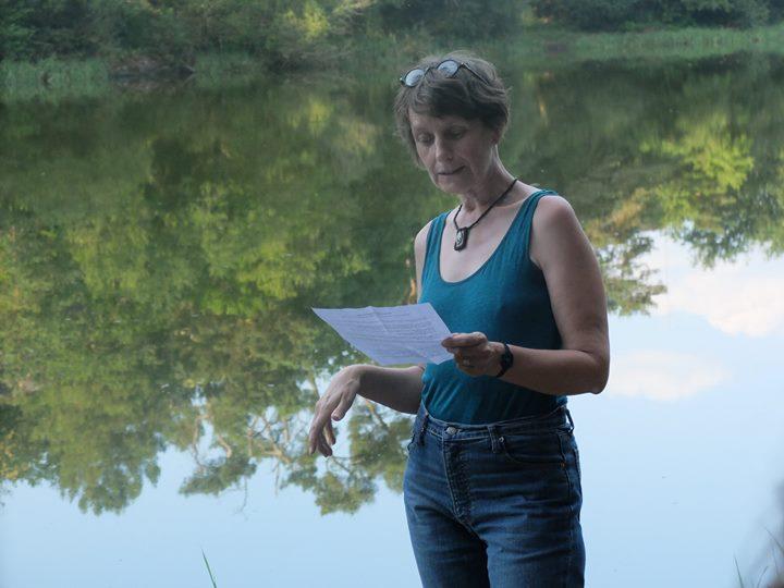 Lecture marchée avec Sandrine Cnudde, à l'étang de l'Ethunel à Treffendel, en partenariat avec…
