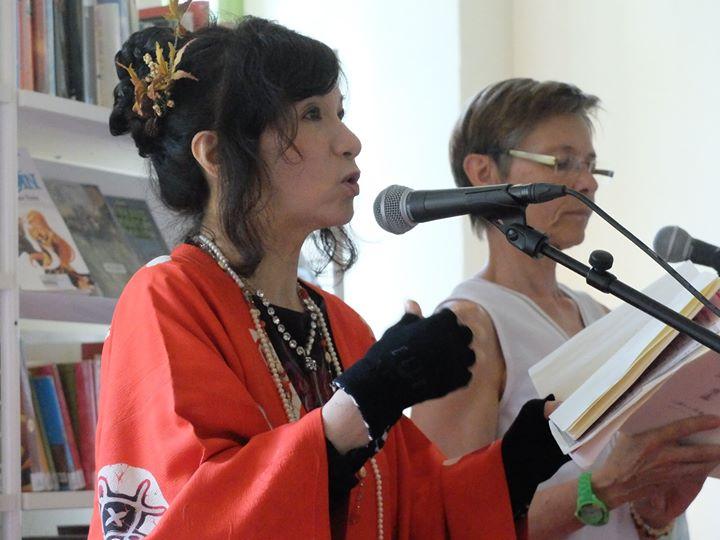 Premiers retours photos (merci à Virginie Gautier, bénévole à Dixit Poétic) du festival Et…