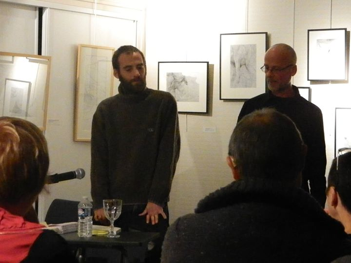 Retour par photos de la soirée Cocktails-Dithyrambes avec le poète-plasticien Anael Chadli, à la…