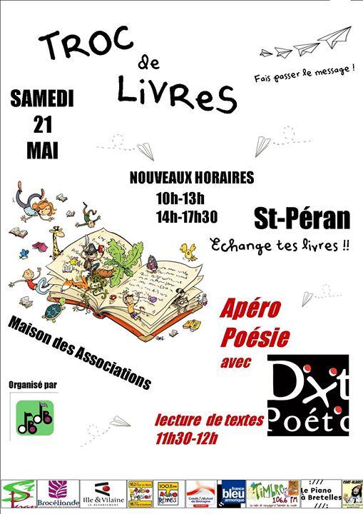 Dixit Poétic s'associe à l'association Du Bruit dans le Bourg pour un clash poétique…