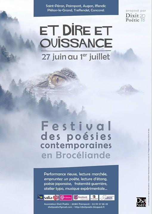 Découvrez toute la programmation de la 5ème édition du festival Et Dire et Ouïssance…