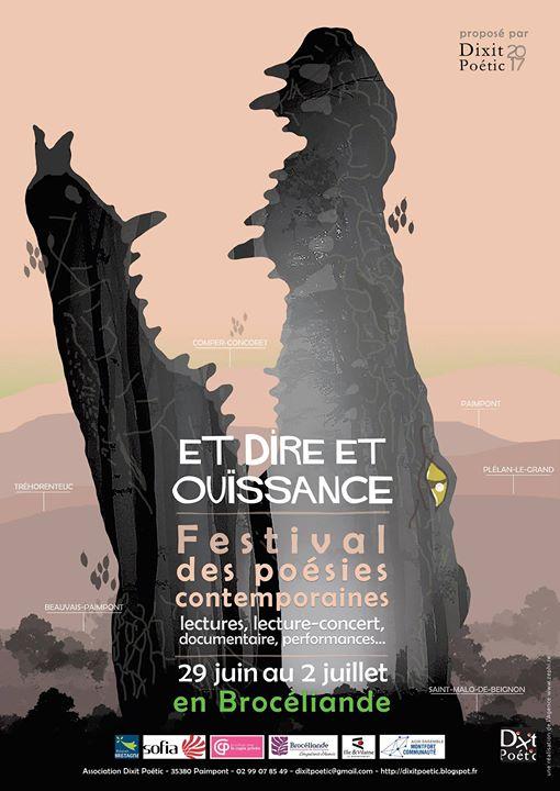 Quatrième édition du festival des poésies contemporaines «Et Dire et Ouïssance» ! Du jeudi…
