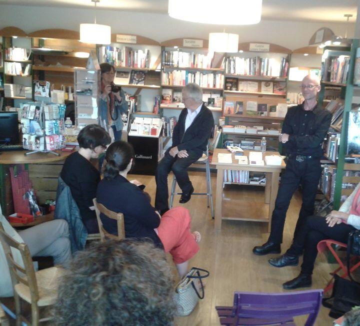 Grand moment de partage pour la soirée Dithyrambes avec le poète Daniel Biga, en…