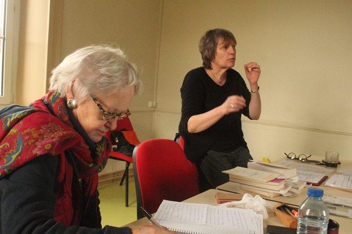 Découvrez les photos de l'atelier d'écriture réalisé par Brigitte Mouchel, poète et plasticienne invitée…