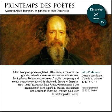 Dixit Poétic sera présente le 24 mars au château de Comper, à l'occasion de…