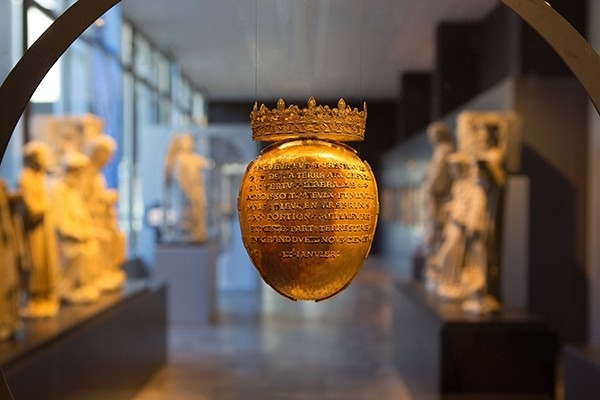 L'écrin du coeur d'Anne de Bretagne, qui est au coeur de l'écrit et de…